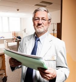 Docteur Laurent Mignot, chef du département d'oncologie à l'institut Curie
