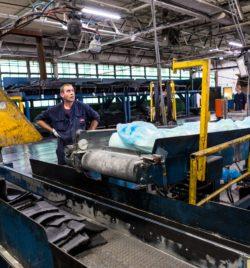 Usine Bridgestone de Béthune - Fabrication du caoutchou