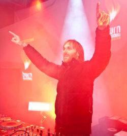 David Guetta - Concert BURN aux Winter X Games - Tignes