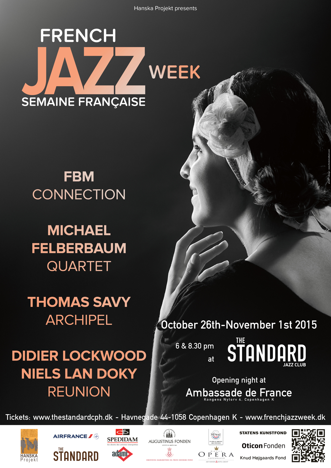 French Jazz Week Copenhague 2015