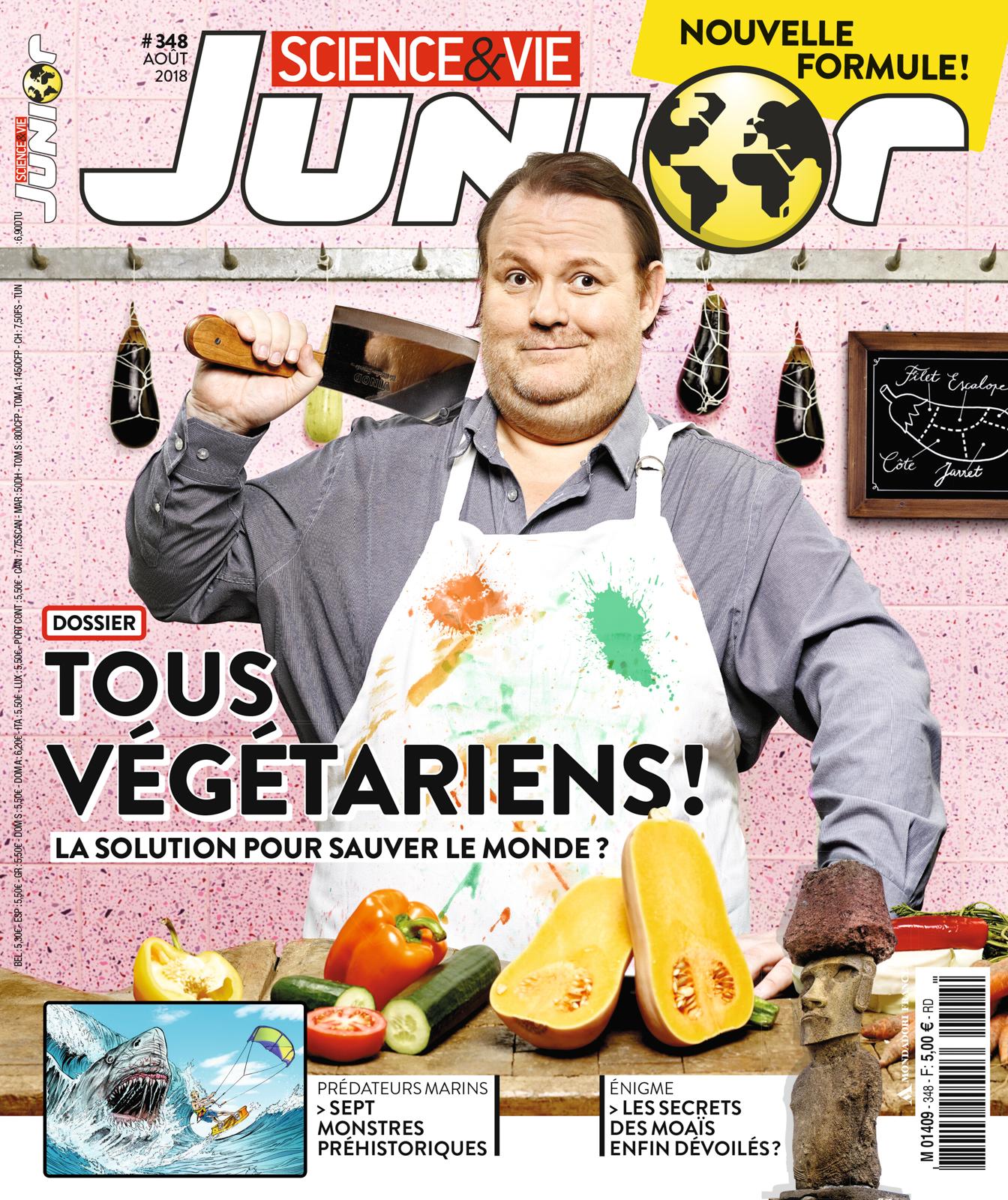 Boucher végétarien - SVJ