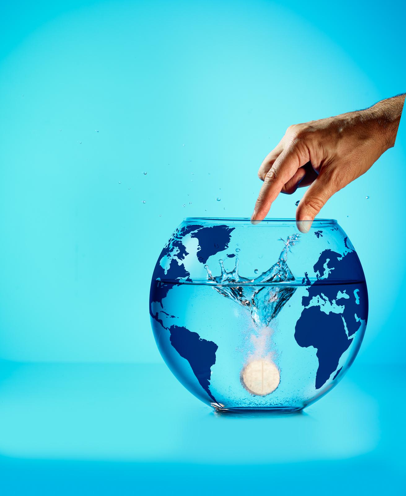 Illutstration Sauvez Les Oceans - Science & Vie junior